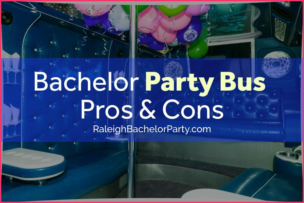 Pros & Cons of Raleigh party bus rentals